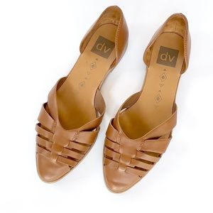 DV Dolce Vita • basketweave d'orsay slip on flats